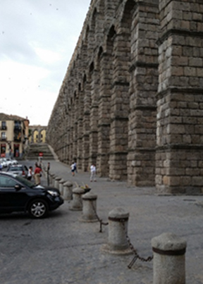 Blog 13_1 two thousand year old Roman aqueduc image