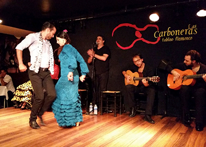 Blog 14_3 Los Carboneras for dinner and a Flamenco show image