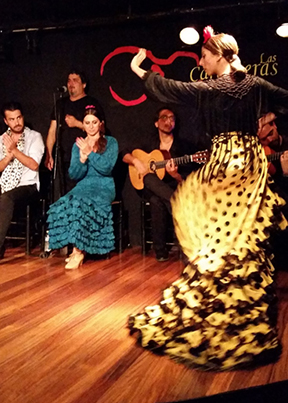Blog 14_5 Los Carboneras for dinner and a Flamenco show image