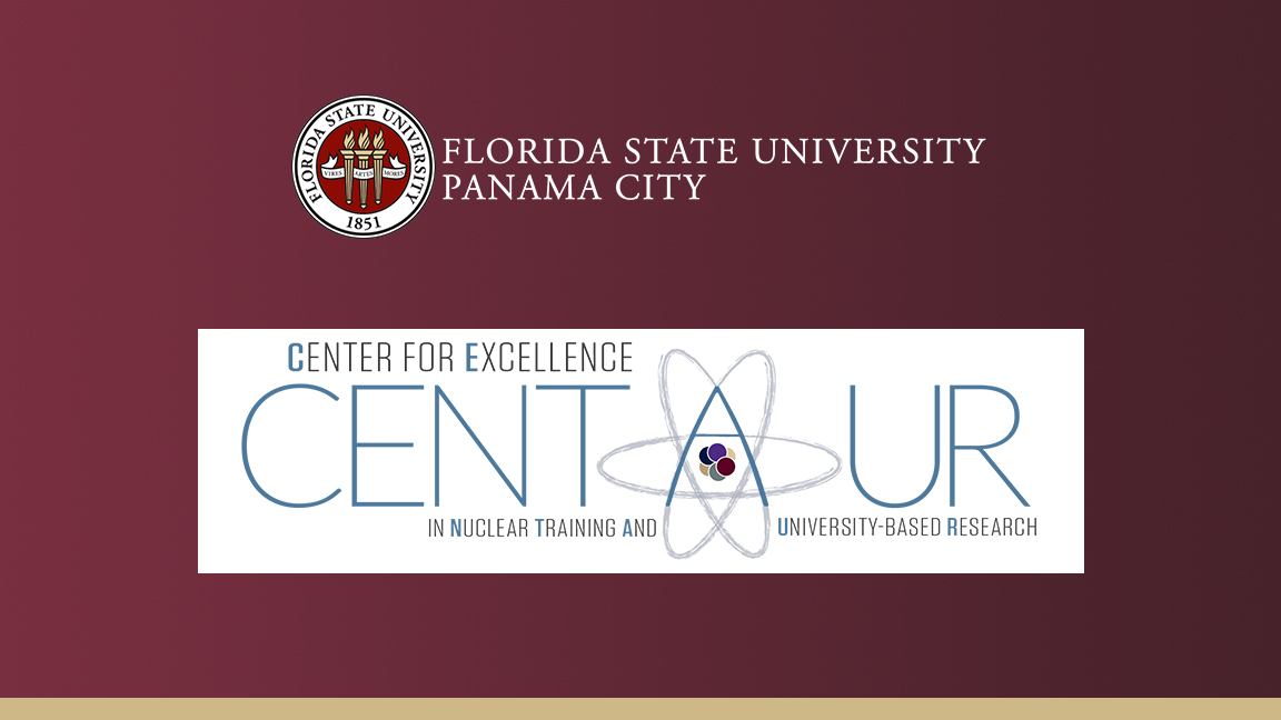 FSU Panama City and Center for Excellence in Nuclear Training and University-Based Research graphic