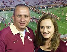 When Frank Hall decided to follow his sister's footsteps to attend FSU Panama City, he had no idea he was starting a family legacy. Now his daughter, Alexandria, also is enjoying the benefits of smaller classes with the comforts of home.