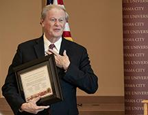 FSU President  John Thrasher recognized with scholarship in his name