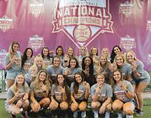 2018 FSU Womens Softball Team