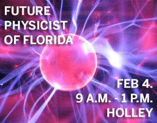 Middle school students who have been inducted into FSU Panama City's chapter of Future Physicist of Florida will get to try on potential careers during the STEM Expo from 9 a.m. to 1 p.m. Saturday, Feb. 4, at FSU Panama City