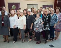 About 60 people gathered Wednesday, May 24, to celebrate 20 years of recognizing outstanding FSU Panama City alumni as Notable 'Noles.