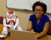 A business administration major turned robot programmer is offering her skills to inspire the next generation of women to reach for their dreams. Jessica Haley and others with STEM Institute are developing a local chapter of Girls Who Code to help close the gender gap in computer science.
