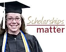 Scholarships help students reach academic goals