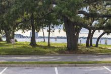Seminole Landing aerial construction view 7-20-2020
