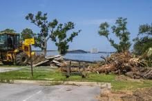 Seminole Landing aerial construction view 8-3-2020