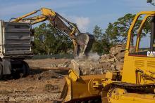 Seminole Landing aerial construction view 8-11-2020