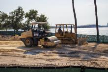 Seminole Landing aerial construction view 8-17-2020