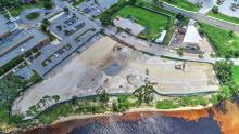 Seminole Landing aerial construction view 9-8-2020