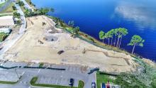 Seminole Landing aerial construction view 9-25-2020