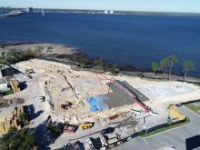 Seminole Landing aerial construction view 11-18-2020