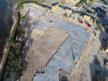 Seminole Landing aerial construction view 12-14-2020
