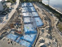 Seminole Landing aerial construction view 12-10-2020