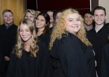 First-year students at 2019 convocation