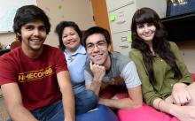 Mixed-gender students