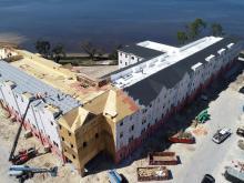 Seminole Landing Construction March Drone Images