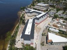 Seminole Landing Construction April Drone Images