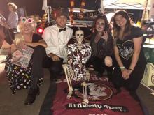 The Psychology Club at Trunk or Treat