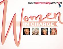 Women in Charge logo